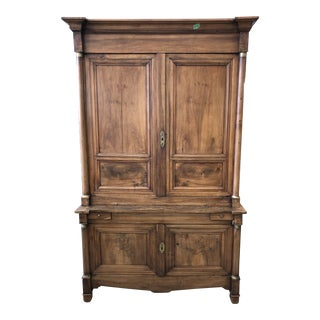 French Empire Deux Corps Cabinet For Sale