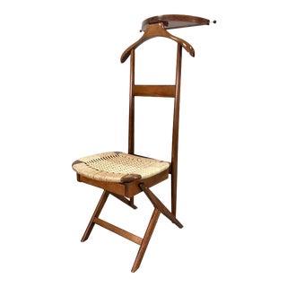 Mid Century Modern Italian Style Men's Valet / Chair For Sale