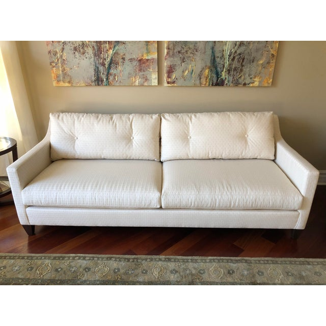Sensational Ethan Allen Mid Century Modern Sofa Gmtry Best Dining Table And Chair Ideas Images Gmtryco