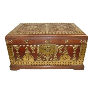 19th-C. Anglo-Indian Box For Sale