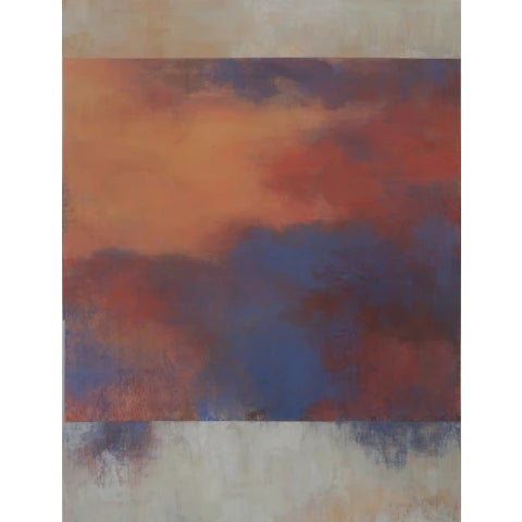 An oil painting on paper image size: 33 x 25 in. paper size: 37 x 29 in. zinn992
