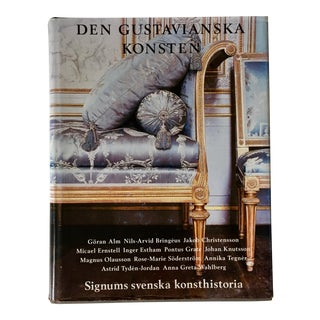 Swedish Gustavian Design Art Book-1998 For Sale