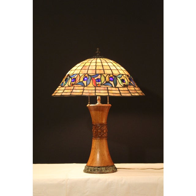 Arts & Crafts 1930s Arts and Crafts Style Table Lamp For Sale - Image 3 of 9