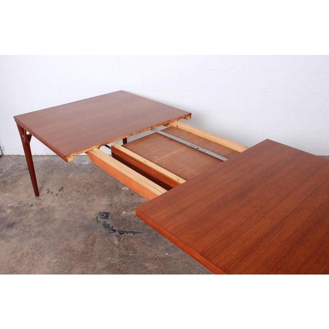 Sculptural Teak Dining Table - Image 6 of 10
