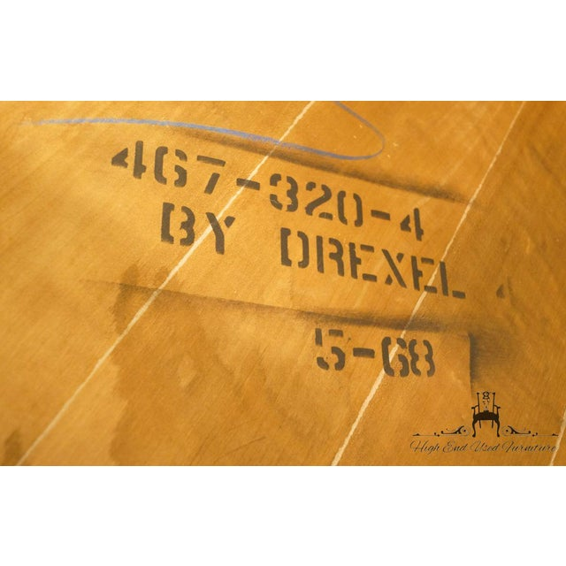 "20th Century Traditional Drexel Ponte Vecchi Collection 92"" Dining Table For Sale - Image 10 of 11"