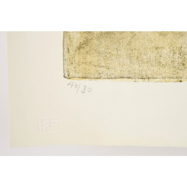 """Federico Castellon the Giddiest Grew Pale """"Mask of the Red Death"""" by Poe Lithograph For Sale - Image 11 of 12"""