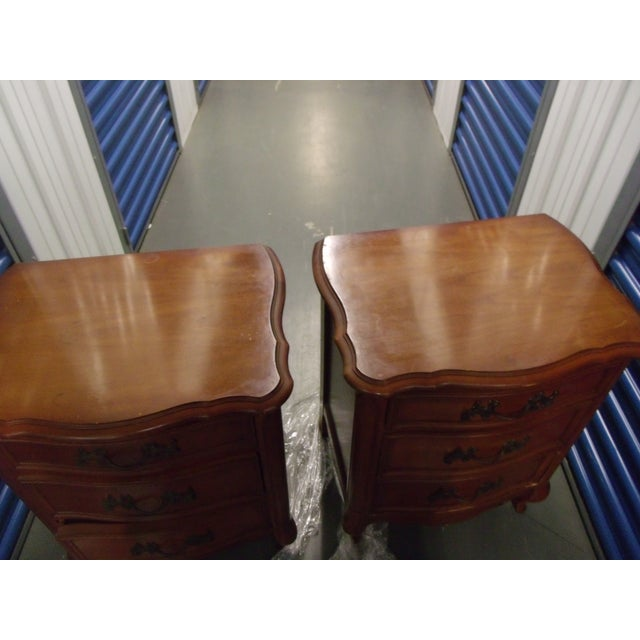 Cherry Night Stands - A Pair - Image 5 of 5