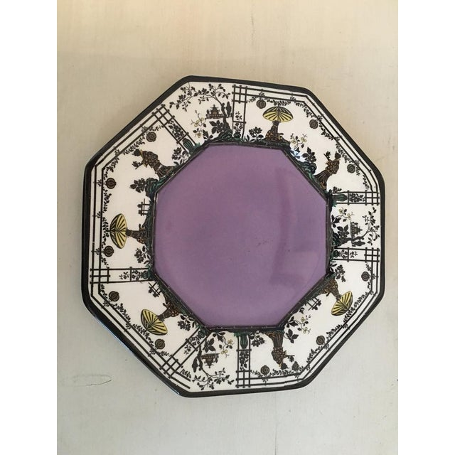 British Colonial Vintage Wedgwood Silhouette Plates - Set of 3 For Sale - Image 3 of 5