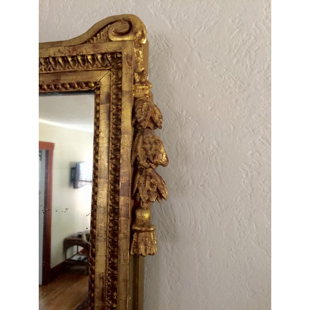 Antique French Gold Leaf Gilt Mirror - Image 7 of 9