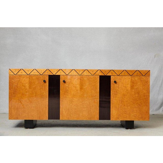 Pace 'Boca' Collection Memphis Style Inspired Lacquered Credenza For Sale - Image 9 of 9