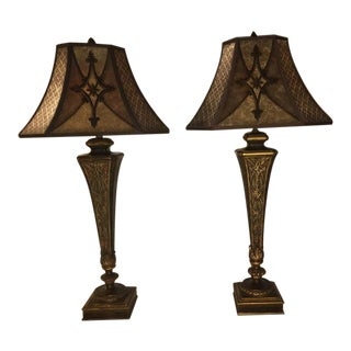 Fine Art Lamps ,Villa 1919 Collection, Table Lamps - a Pair For Sale