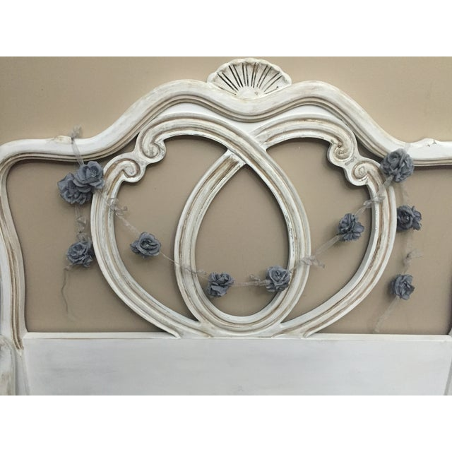 Vintage French Provincial Twin Size Bed - Image 5 of 7