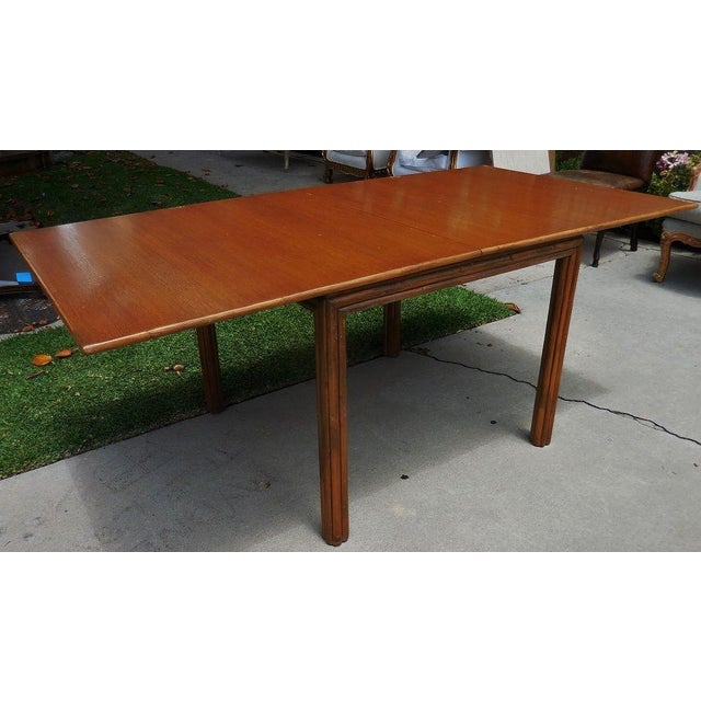McGuire Flip Top Breakfast/Dining Table For Sale - Image 5 of 6