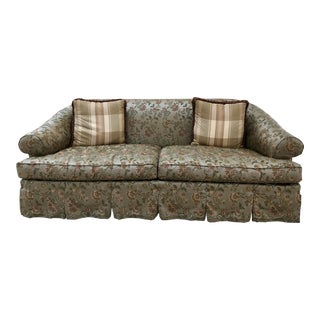 Lillian August Silk Couch