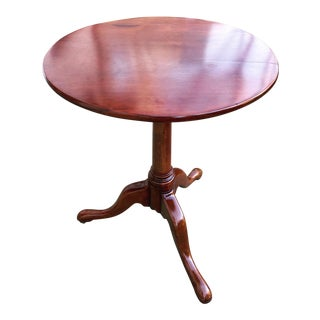 Early 19th Century American Federal Cherry Accent or Tea Table For Sale