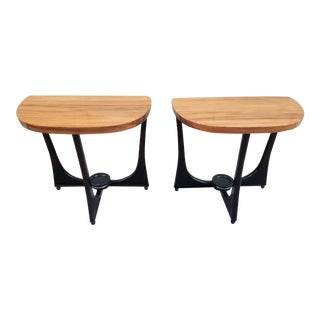 Adrian Pearsall Mid-Century Side Tables - A Pair