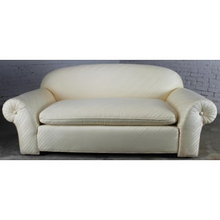 1976 Vintage White Donghia Sofa Preview