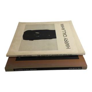 Harry Callahan Photographer Books - a Pair