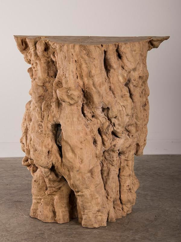 Natural Washed Teak Console Table From Indonesia   Image 9 Of 9
