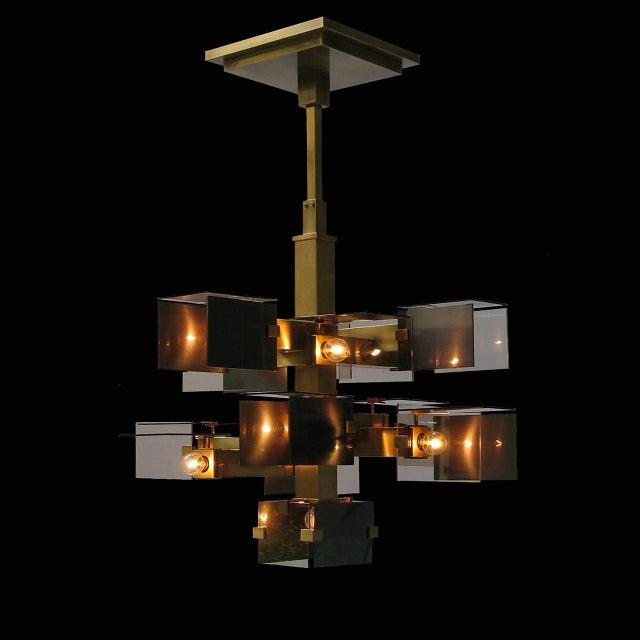 "David Collins ""David Collins"" Ceiling Chandelier by David Collins For Sale - Image 4 of 5"