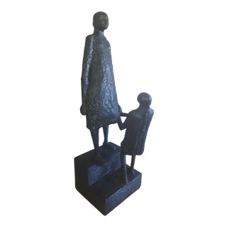 Austin Production Mother and Child Sculpture For Sale