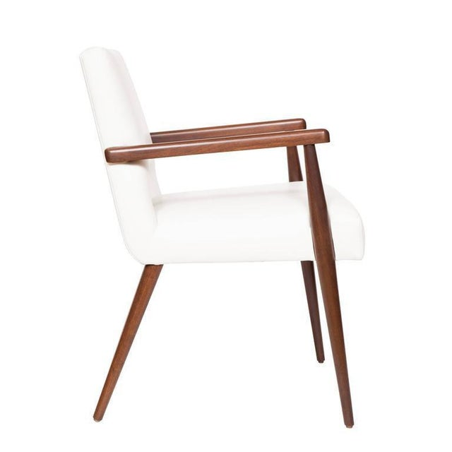 Customizable Set of Ten Hofford Dining Chairs For Sale - Image 4 of 6