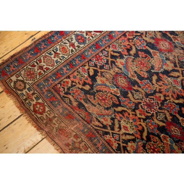 "Vintage Distressed Bijar Rug Runner - 3'7"" x 15'2"" - Image 5 of 10"