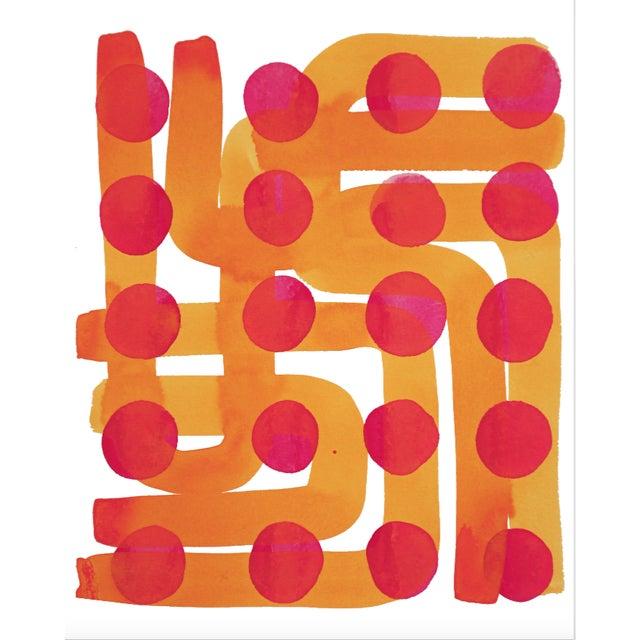 Kate Roebuck Polkadot Maze One Print - Image 1 of 2