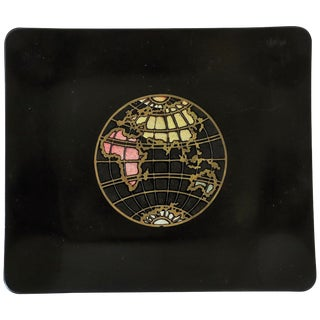 World Globe Tray For Sale