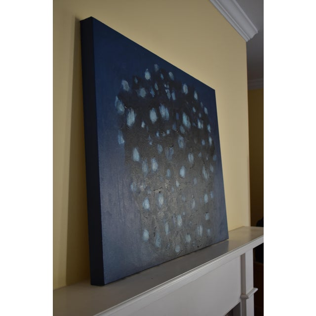 """Abstract Painting, """"Magnolia in Moonlight"""", by Stephen Remick For Sale In Providence - Image 6 of 10"""