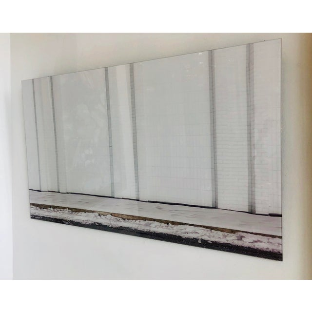 2000 - 2009 Contemporary Urban Storefront Plexi Mounted Photograph For Sale - Image 5 of 13