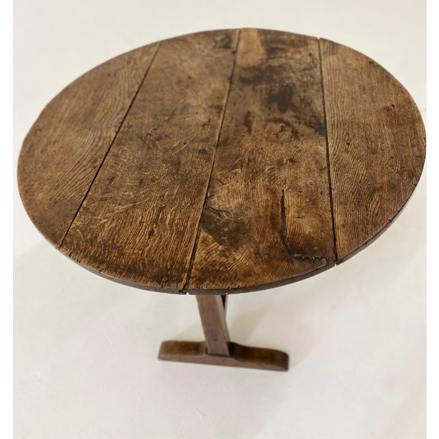 French Country 18th C. French Vendage Table For Sale - Image 3 of 11