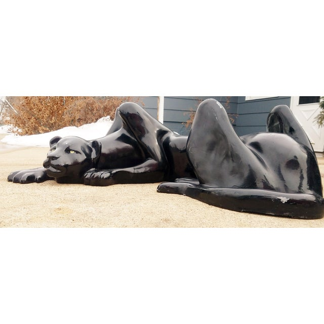 1970's Black Panther Coffee Table Base For Sale - Image 12 of 13