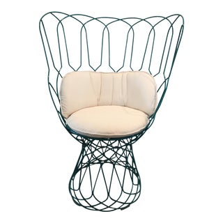 Modern Emu Turquoise Chair For Sale