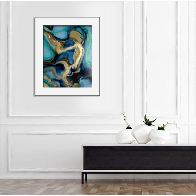 'ALCHEMY' Original Abstract Painting by Linnea Heide - Image 5 of 5