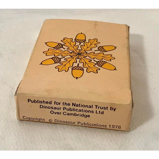 Mid 20th Century Vintage Mid-Century English Antiques Card Game For Sale - Image 5 of 10