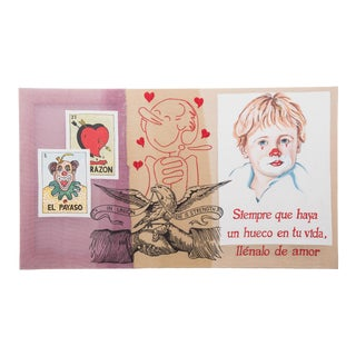 """""""El Corazon en Un Puno"""" by Almudena Rodriguez For Sale"""