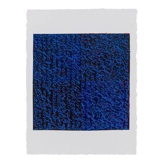 Louise P. Sloane Blues Purples 2017 For Sale