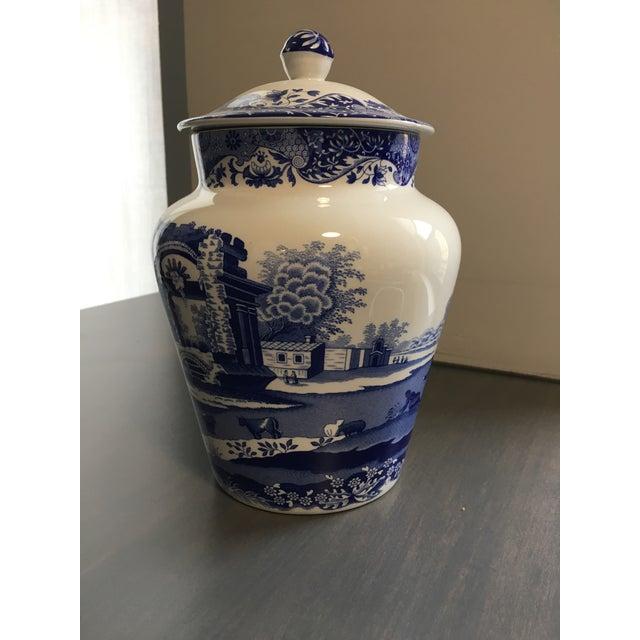 Spode Blue & White Ginger Jar - Image 2 of 4