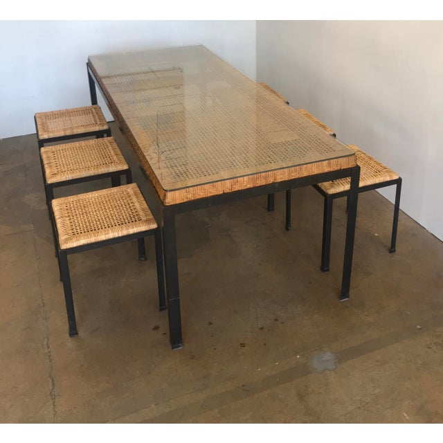 Danny Ho Fong for Tropi-Cal Dining Set For Sale In San Francisco - Image 6 of 11