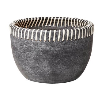 Grey Stitched Planters For Sale