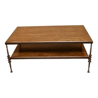 Paul Ferrante Madison Coffee Table in Wrought Iron For Sale