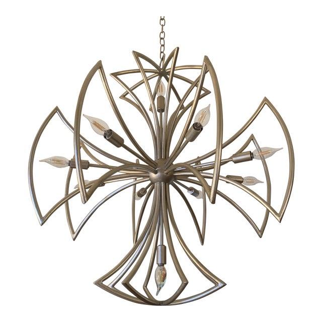 Currey & Company Malta Cross Chandelier For Sale