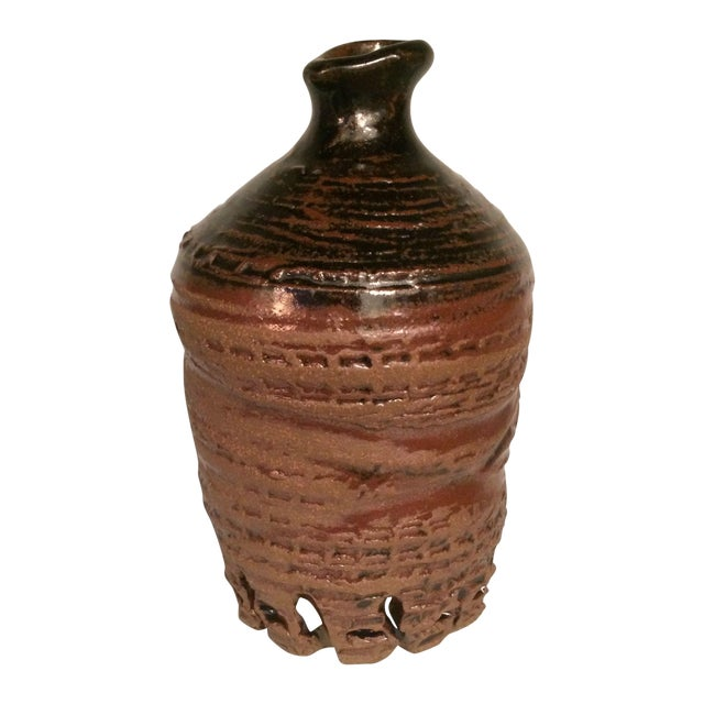 Glazed Ceramic Urn - Image 1 of 7