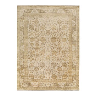 21st Century Vintage Antalya Hand Knotted Rug- 5′6″ × 8′6″ For Sale