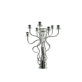 """Driade """"Simon"""" Silver Plated 7-Branched Candleholder/Candelabra by Borek Sipek For Sale"""