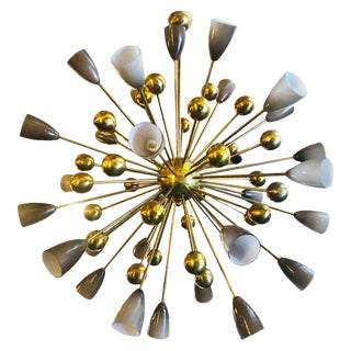 Italian Shades Sputnik Chandelier For Sale