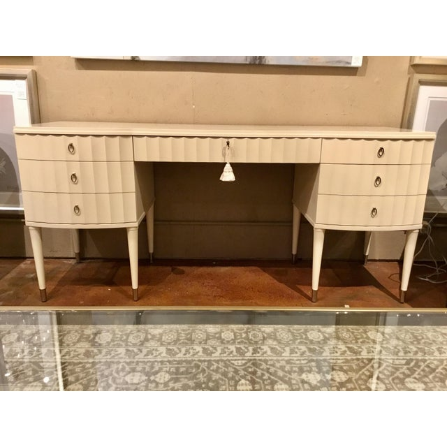 Off-white Henredon Barbara Barry Lady's Writing Desk For Sale - Image 8 of 8