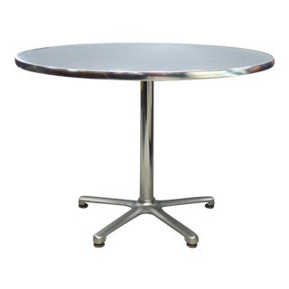 Aluminum Bistro Table by Jorge Pensi for Amat, Spain for Knoll For Sale