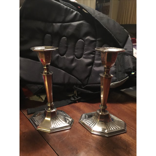 Reed And Barton Candlesticks - Pair - Image 2 of 5
